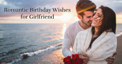 Cute & Romantic Birthday Wishes for Girlfriend