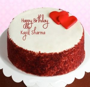 Happy Birthday Kapil Sharma cake