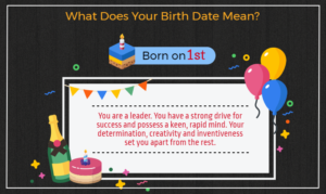 Born on 1st of the month