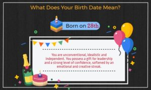 Born on 28th of the month
