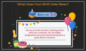 Born on 3rd of the month