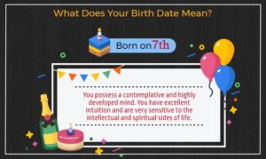 Born on 7th of the month